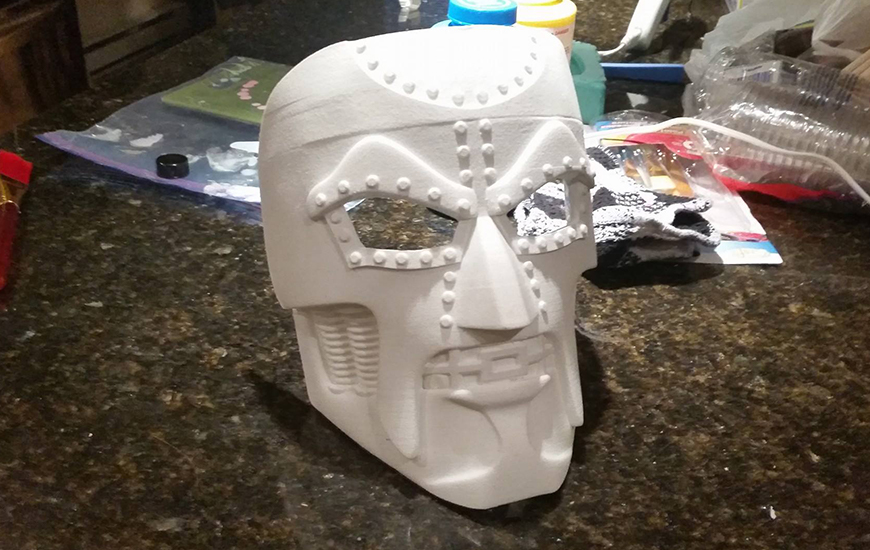ZORTRAX Hero Craft Creations 3D Printed Mask