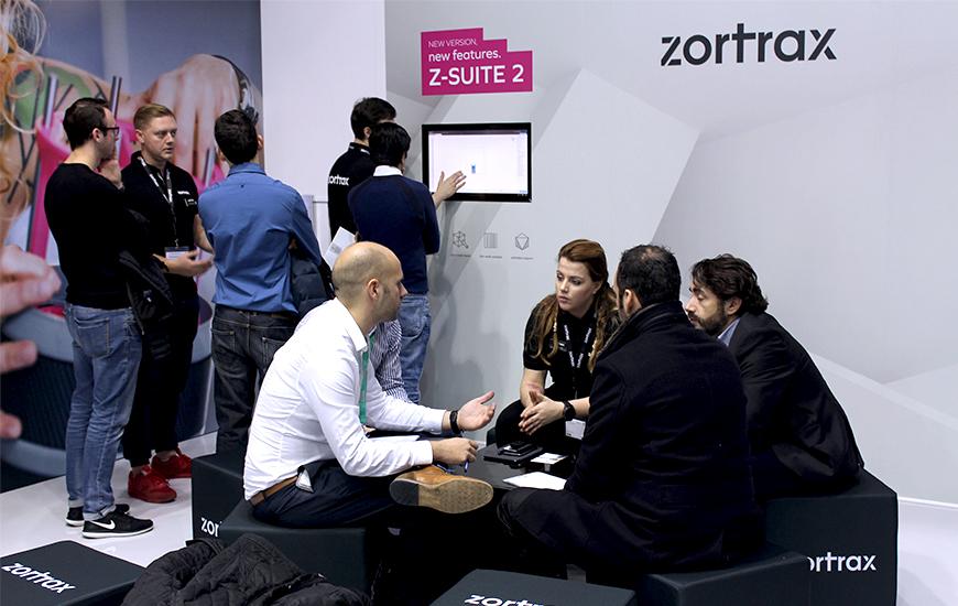 ZORTRAX Formnext 2017 Z-SUITE 2