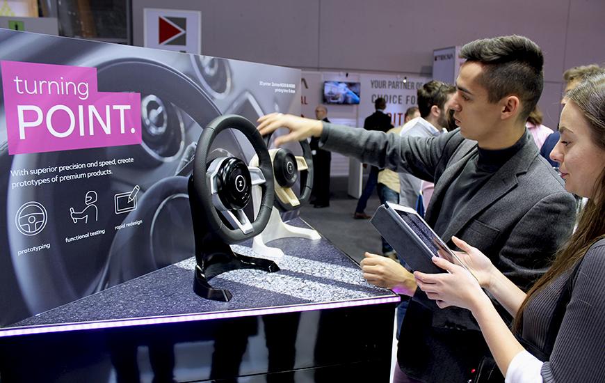 ZORTRAX Formnext 2017 3D Printed Steering Wheel