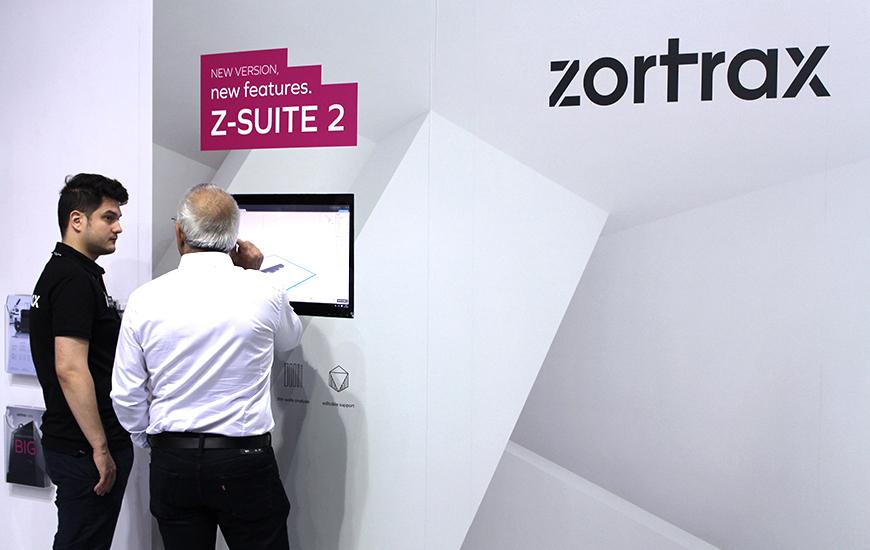 ZORTRAX Choosing infill in Z-SUITE 2 is easy.