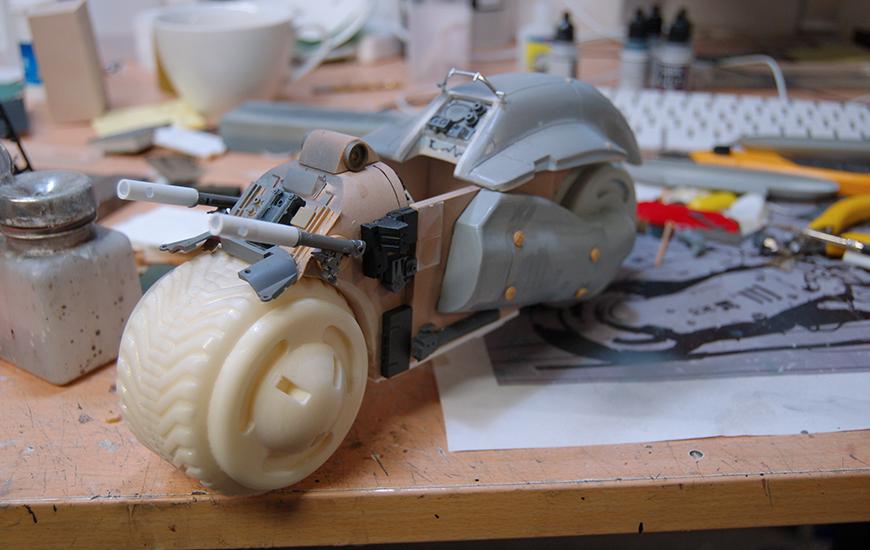 Assembling a Concept Bike
