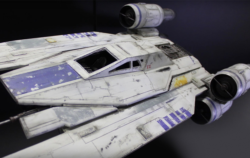 The U-Wing featured in Rogue One. 2016 © Disney & Lucasfilm Ltd. & TM. All rights reserved.