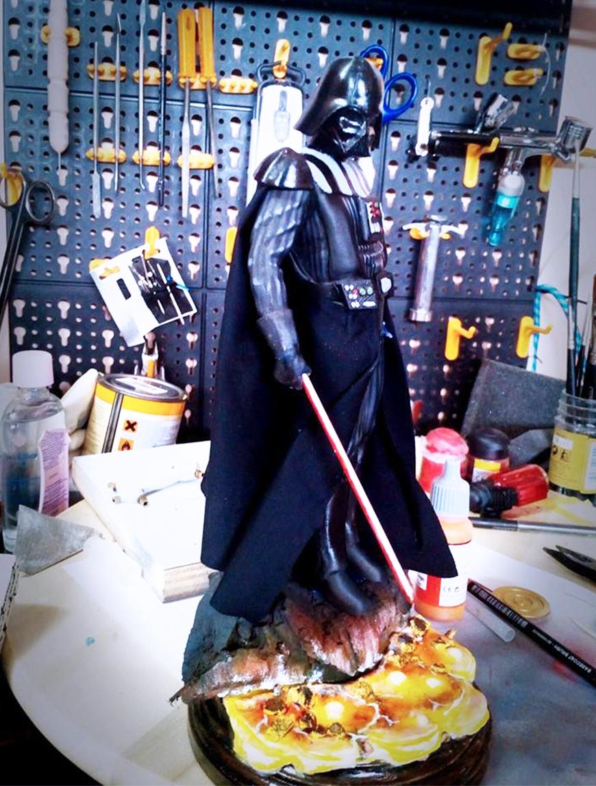 ZORTRAX Fabio Rizzo 3D Printed Darth Vader