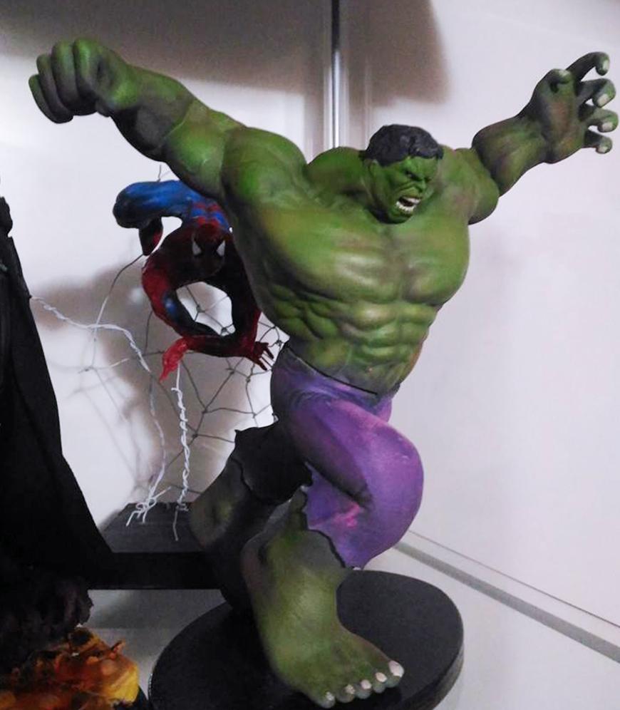 ZORTRAX Fabio Rizzo 3D Printed Hulk