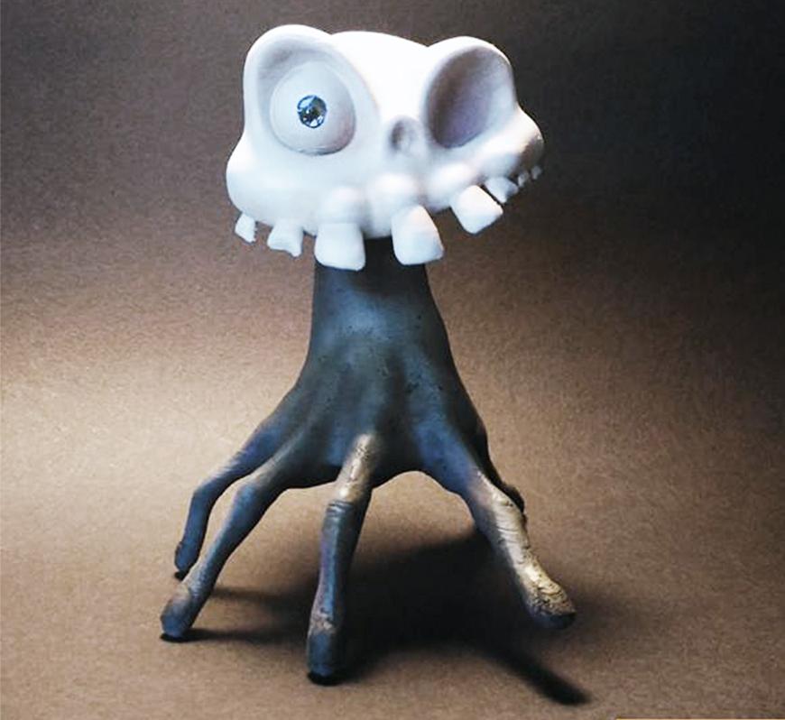 ZORTRAX Fabio Rizzo 3D Printed Skull