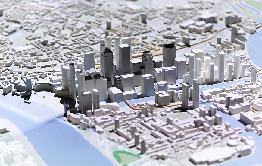 ZORTRAX 3D Printed London Layout