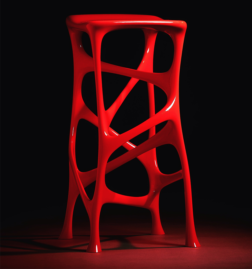 ZORTRAX Serous Stool by Michael Sean Stolworthy