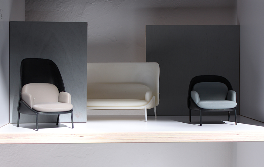 ZORTRAX_mesh chair and sofa