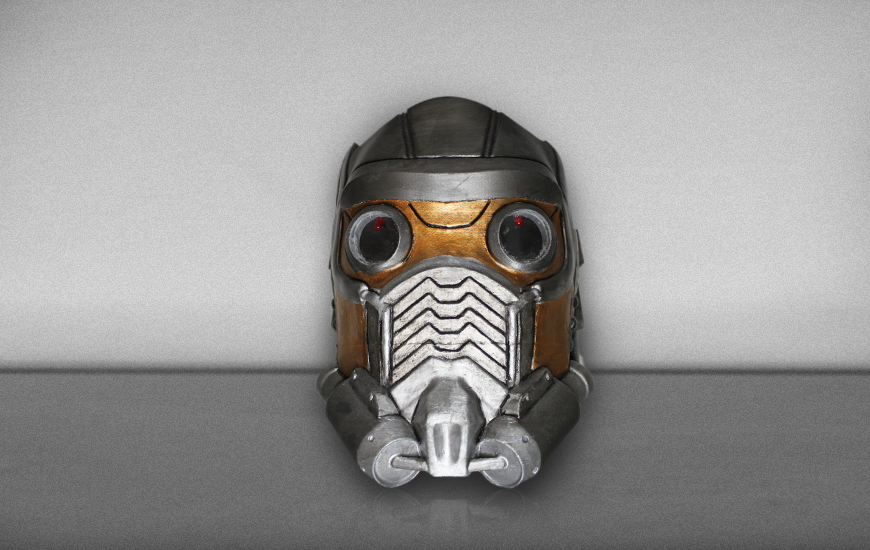 ZORTRAX 3D Printed Cosplay Starlord Mask