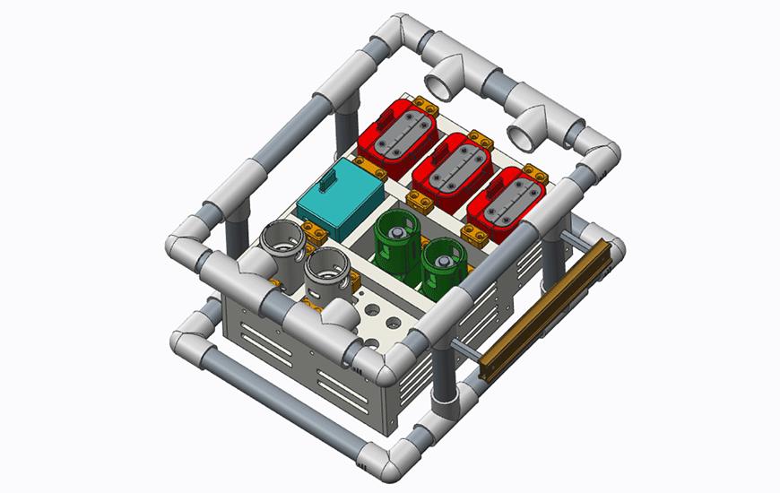 ZORTRAX Geology Sampling System CAD