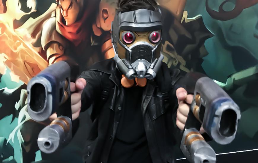 Zortrax 3D Printed Cosplayer