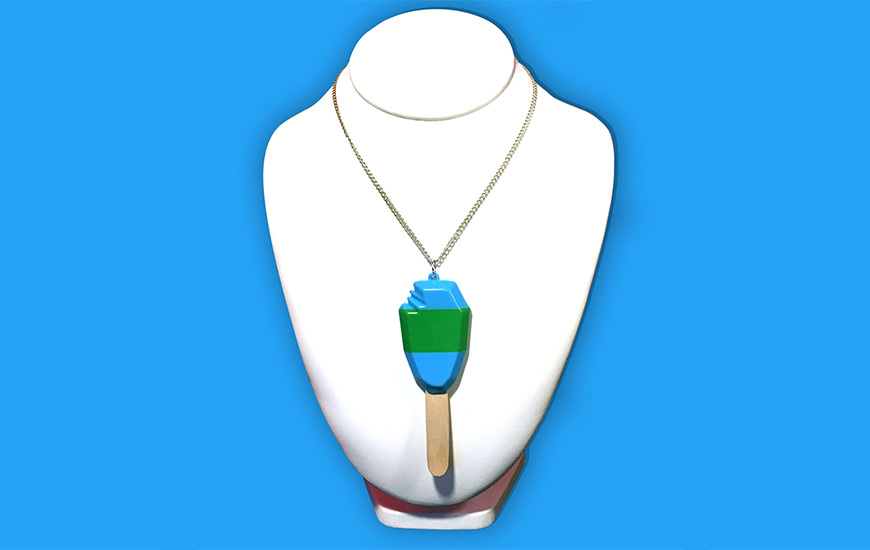 ZORTRAX 3D Printed Jewelry Cambiamente necklace
