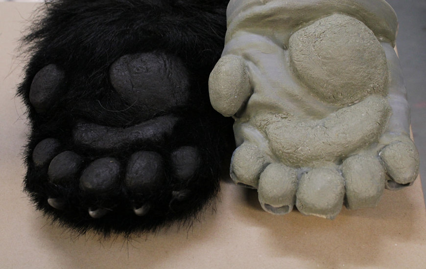 ZORTRAX 3D printed Panda hands
