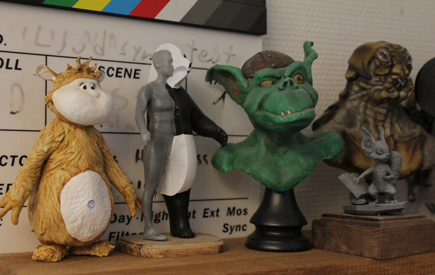 ZORTRAX 3D printed monsters2