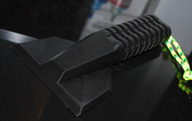 ZORTRAX 3D Printed Scraper Ice