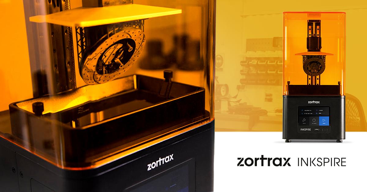 Zortrax Inkspire - Precision Resin UV LCD Desktop 3D Printer
