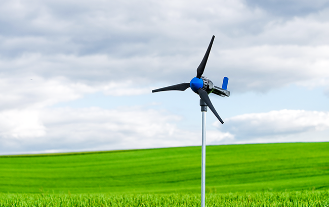 ZORTRAX 3D Printed Green Windmill
