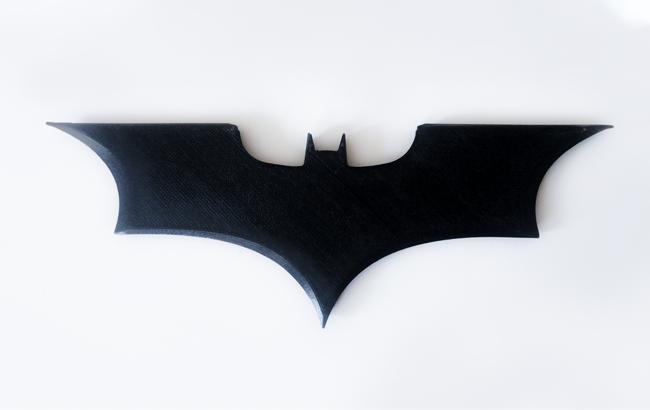 Zortrax 3D Printed batarang