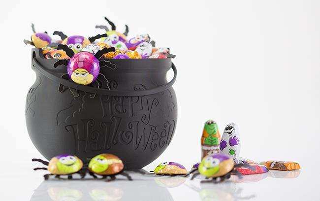 ZORTRAX 3D printed Halloween pot
