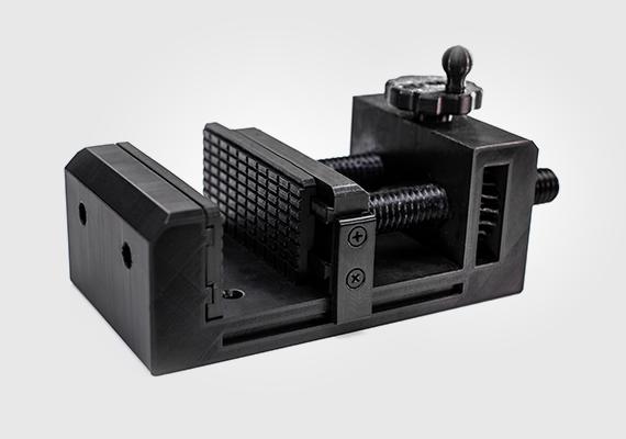 W pełni funkcjonalne imadło, wydrukowane w 3D przy użyciu Z-NYLON.