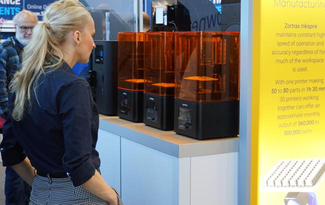 ZORTRAX 3D printing Inkspire Formnext resin