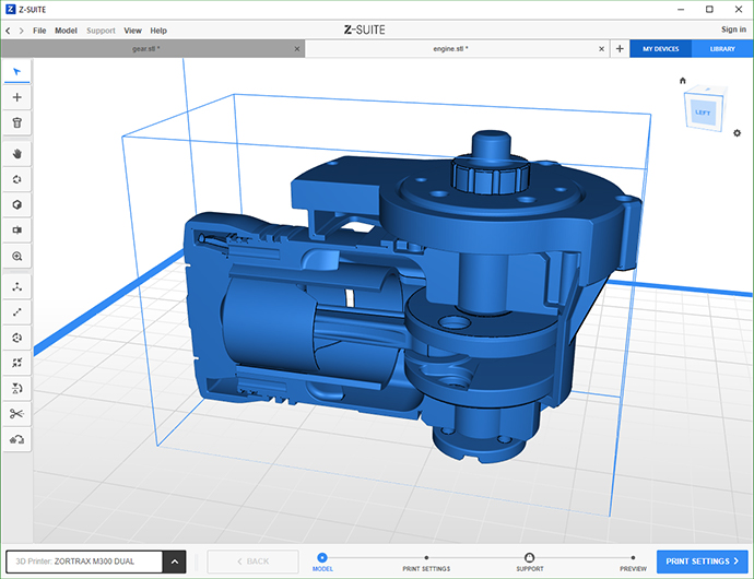 Zortrax Software - Slicing Software for 3D Printers | Zortrax